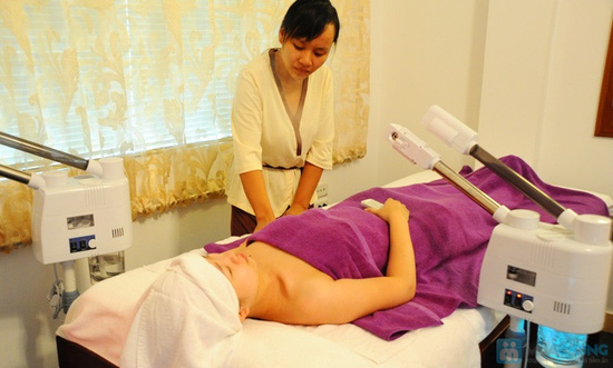 Đặc trị nám vùng da mặt và massage đặc trị vùng mắt giúp giảm quầng thâm và mờ vết nhăn tại Crystal Beaute - 7