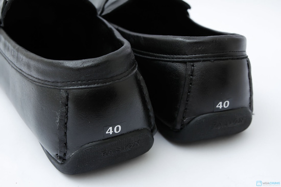 Giày nam thời trang 100% da thật - 4