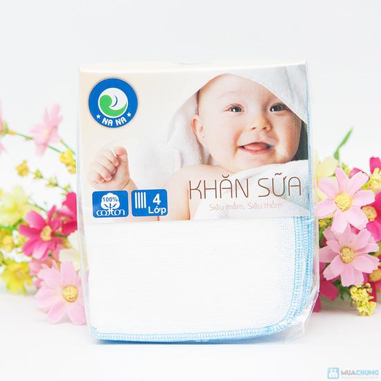 Combo 30 khăn sữa cho bé (loại 4 lớp) - 10