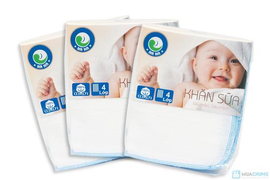 Combo 30 khăn sữa cho bé (loại 4 lớp) - 4