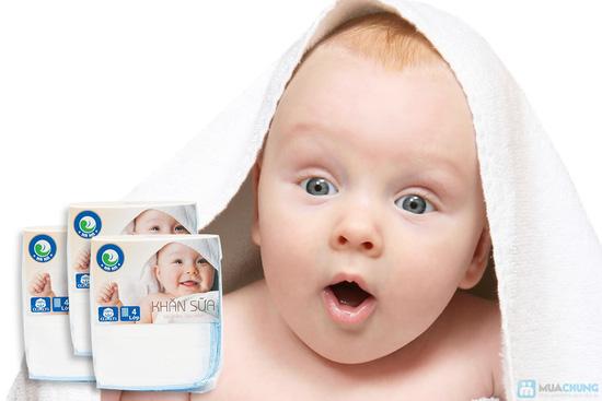 Combo 30 khăn sữa cho bé (loại 4 lớp) - 6