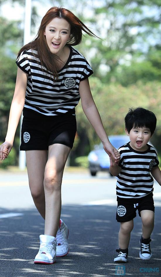 Bộ đồ thể thao cho mẹ và bé trai - 6