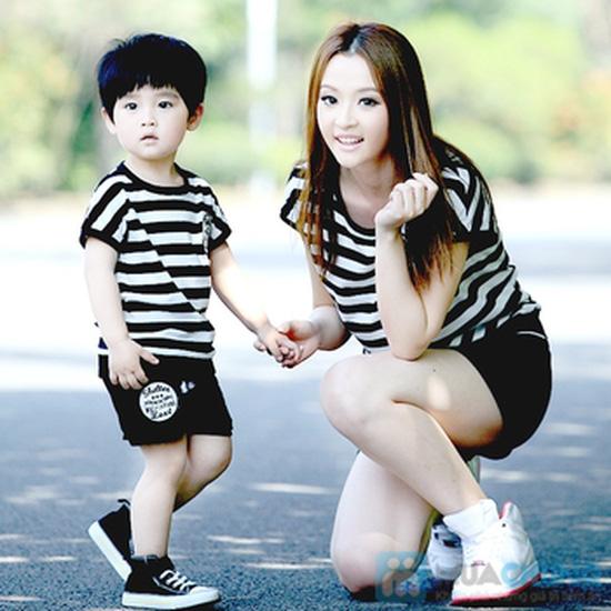 Bộ đồ thể thao cho mẹ và bé trai - 5