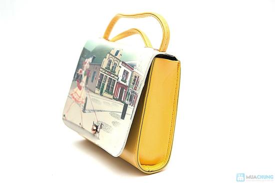 Túi xách hoa văn xinh xắn - 9