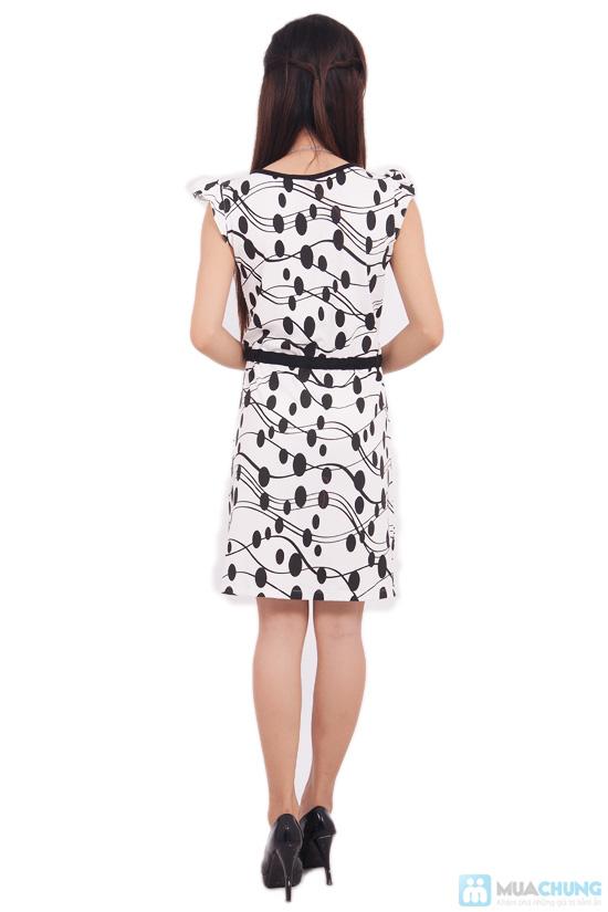 Đầm chấm bi cho nữ - 9