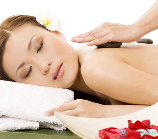 Gói DV: massage body bằng tinh dầu gừng + đá nóng - 1