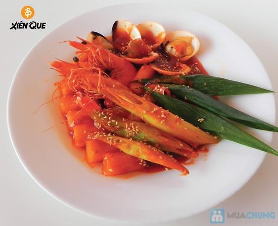 Bánh gạo Hàn Quốc Topokki và nước sốt cay nồng - Hệ Thống Xiên Que - 8
