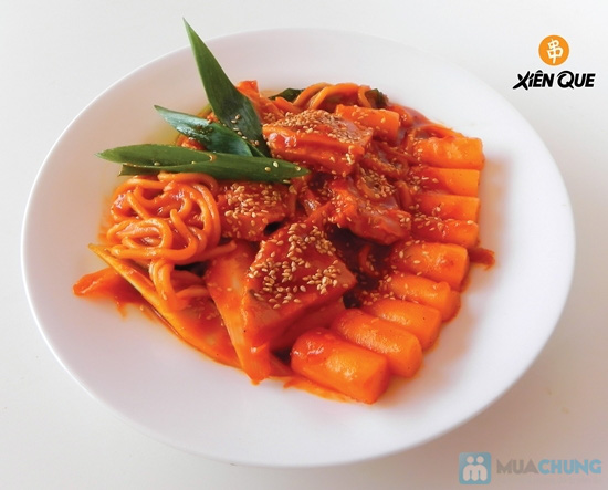 Bánh gạo Hàn Quốc Topokki và nước sốt cay nồng - Hệ Thống Xiên Que - 13
