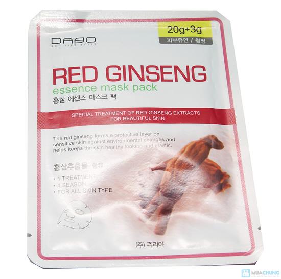 Combo sữa rửa mặt Hồng sâm + 5 gói mặt nạ Hồng sâm Hàn Quốc - 5