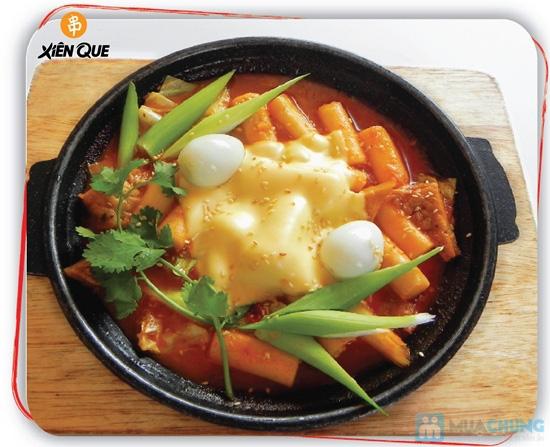 Bánh gạo Hàn Quốc Topokki và nước sốt cay nồng - Hệ Thống Xiên Que - 14