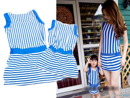 Đầm đôi cho mẹ và bé gái - 1