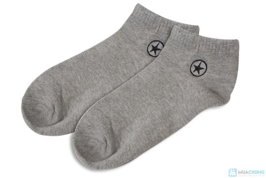 Combo 5 đôi tất nam thun cotton cao cấp - 2