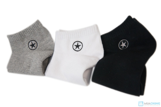 Combo 5 đôi tất nam thun cotton cao cấp - 5