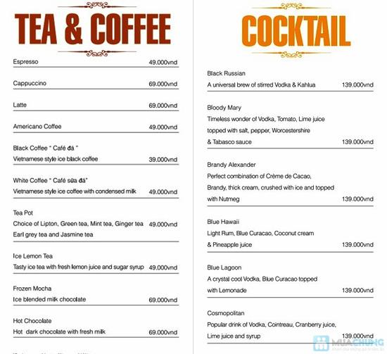 Phiếu ăn uống tại Bistro Cafe - Chỉ 72.000đ được phiếu 120.000đ - 2