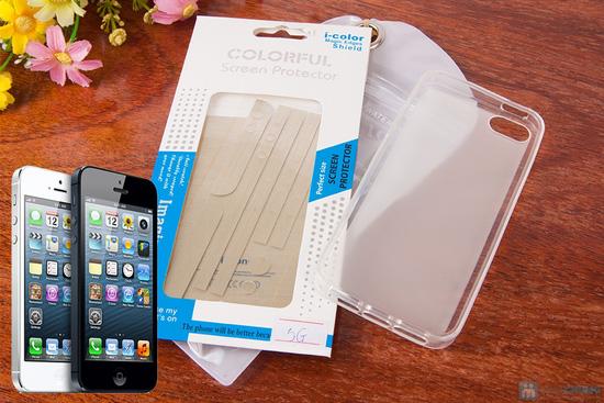 Miếng dán màn hình Iphone + Ốp lưng trong - 7