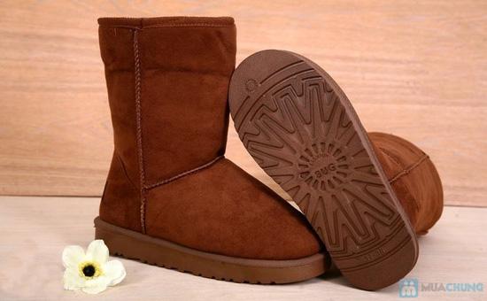 Boot cổ lông cho mùa đông ấm áp - 3