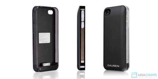 Ốp lưng sạc Iphone 4/4s dung lượng 1420mAh (tặng kèm 1 viền ốp lưng + cáp 3 in 1) - 5