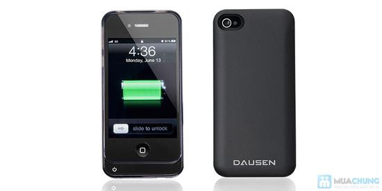 Ốp lưng sạc Iphone 4/4s dung lượng 1420mAh (tặng kèm 1 viền ốp lưng + cáp 3 in 1) - 4