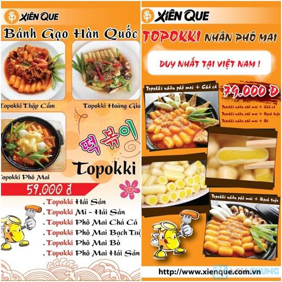 Bánh gạo Hàn Quốc Topokki và nước sốt cay nồng - Hệ Thống Xiên Que - 5