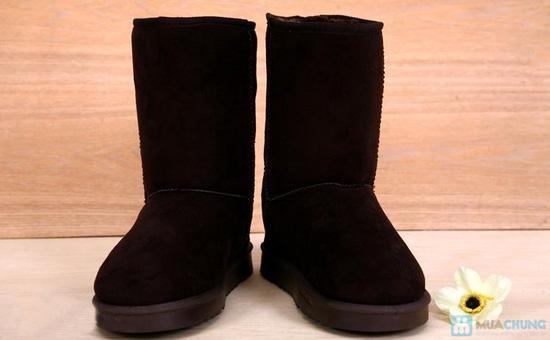 Boot cổ lông cho mùa đông ấm áp - 7
