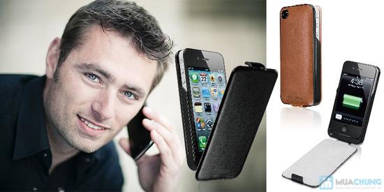 Ốp lưng sạc Iphone 4/4s dung lượng 1420mAh (tặng kèm 1 viền ốp lưng + cáp 3 in 1) - 10