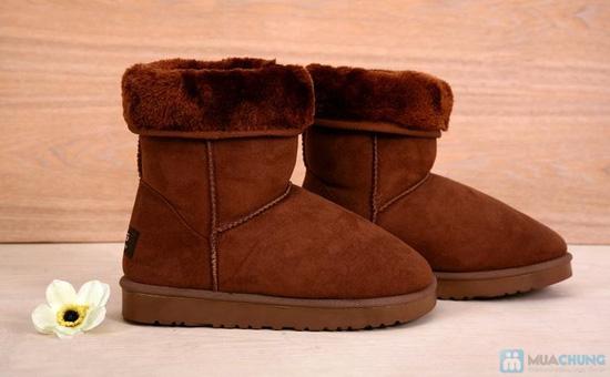Boot cổ lông cho mùa đông ấm áp - 6
