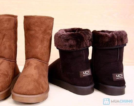 Boot cổ lông cho mùa đông ấm áp - 2