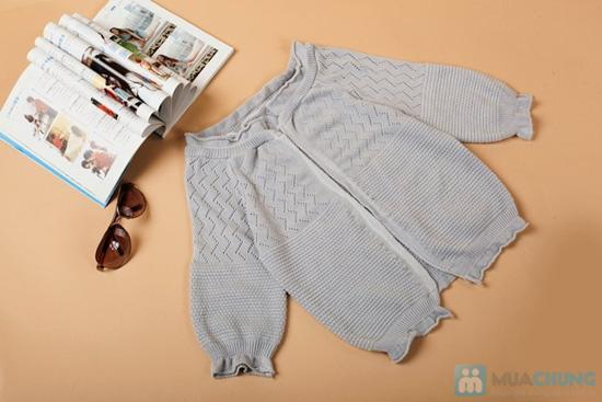Áo khoác len móc mùa thu xinh xắn - 3