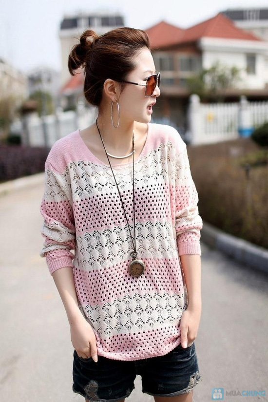 Áo len móc color dịu dàng - 6