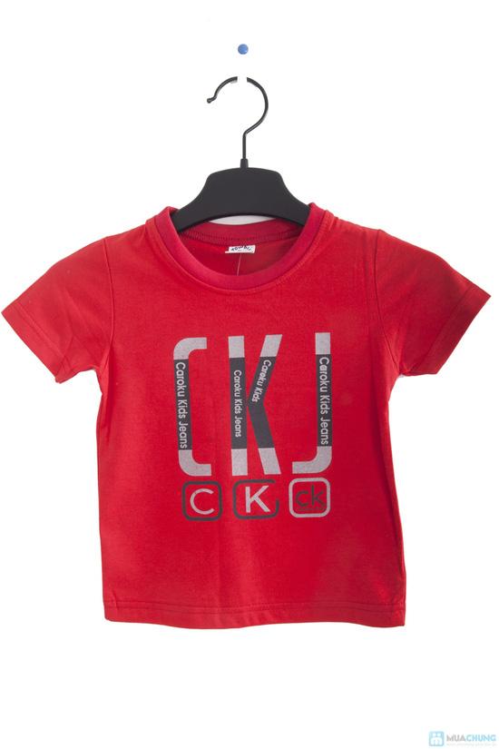Combo 2 áo thun in chữ cho bé trai 1 - 2 tuổi - 3