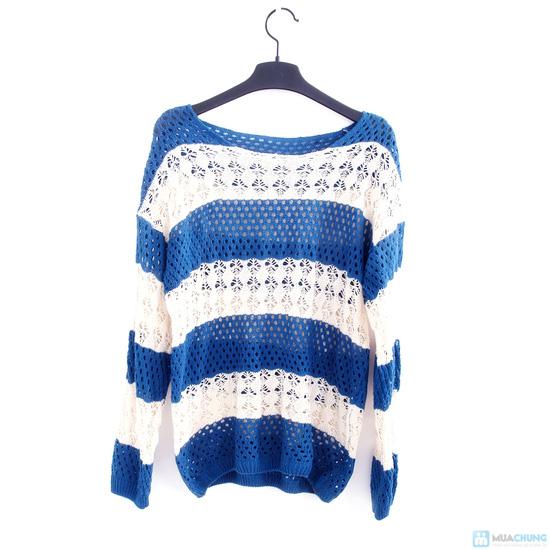 Áo len móc color dịu dàng - 3