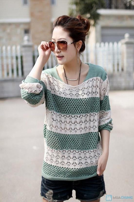 Áo len móc color dịu dàng - 4