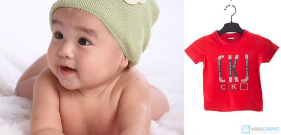 Combo 2 áo thun in chữ cho bé trai 1 - 2 tuổi - 7