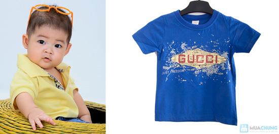 Combo 2 áo thun in chữ cho bé trai 1 - 2 tuổi - 6