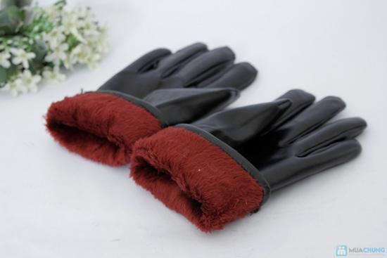 Găng tay lót nỉ da mềm cho nữ - 3
