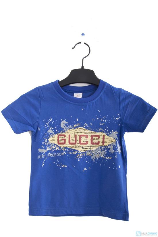 Combo 2 áo thun in chữ cho bé trai 1 - 2 tuổi - 4
