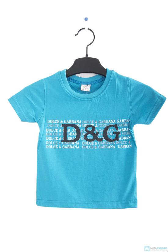Combo 2 áo thun in chữ cho bé trai 1 - 2 tuổi - 2