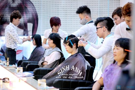 Cắt uốn hoặc nhuộm hoặc ép tại sinh anh hair stylist - 6