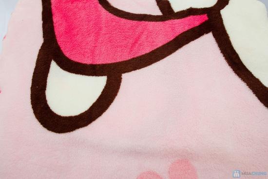 Chăn băng lông hoặt hình ngộ ngĩnh cho bé - 4