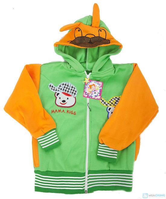 Áo khoác tai thỏ cho bé xinh xắn - 5