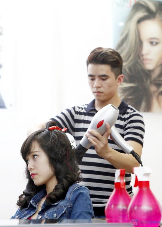 Cắt + Nhuộm/ Uốn/ Ép Hair Salon Thắng Sài Gòn - 19