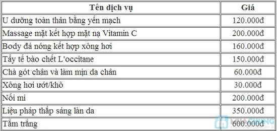 Chọn 1 trong 3 dịch vụ: tẩy tế bào chết toàn thân/ massage body/ massage mặt tại Quỳnh Tiên Spa - 1