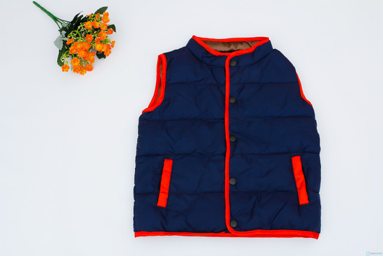 áo phao gile cho bé - 1