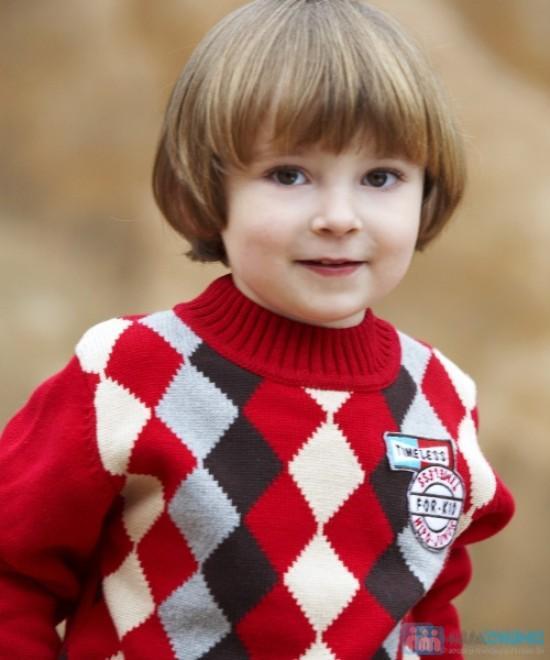 áo len kéo khóa ở cổ cho bé - 8