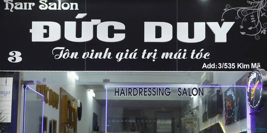 Gói làm tóc Salon Đức Duy - 1