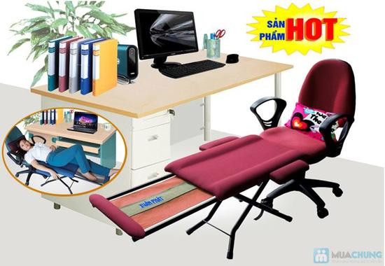"""Ghế ngủ văn phòng"""" mang nhãn hiệu Xuân Phát  - 1"""