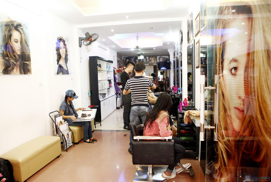 Cắt + Nhuộm/ Uốn/ Ép Hair Salon Thắng Sài Gòn - 10