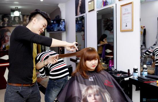 Cắt + Nhuộm/ Uốn/ Ép Hair Salon Thắng Sài Gòn - 4
