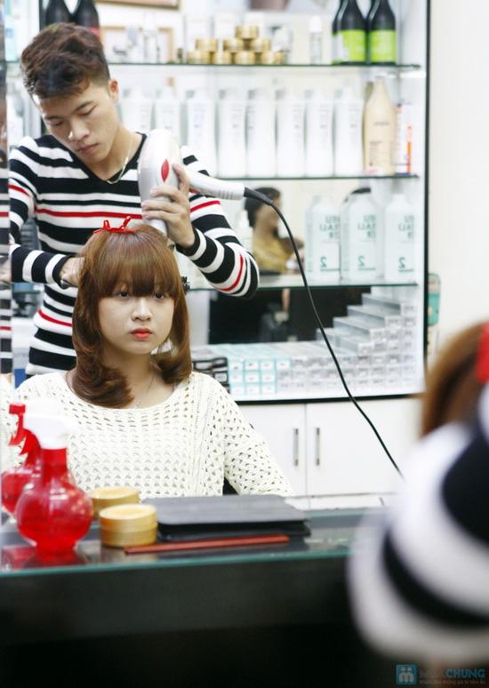 Cắt + Nhuộm/ Uốn/ Ép Hair Salon Thắng Sài Gòn - 18