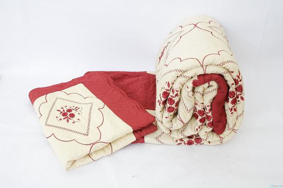 Bộ chăn gối thêu sang trọng cho mùa đông ấm áp - 4